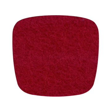 Hey Sign - felt cushion Eames Plastic Armchair, red 5mm