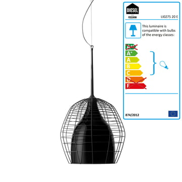 Diesel Living - Cage Pendant Light, small