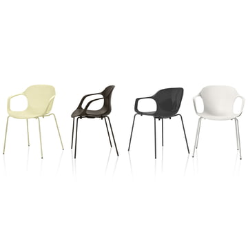 Fritz Hansen - Nap Chair, group in different colours