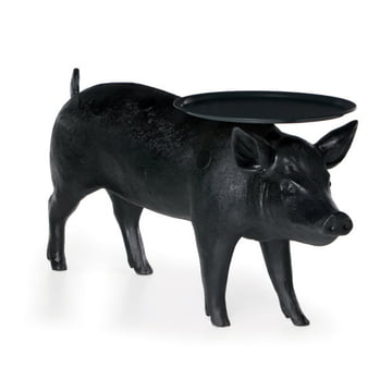 Moooi - Pig Table Side Table, lateral-frontal View