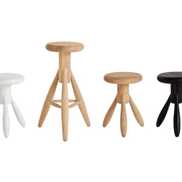 Artek - Rocket Stool, group