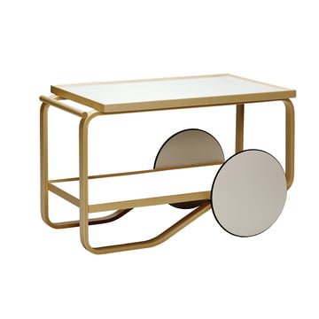 Artek - 901 Trolley in white