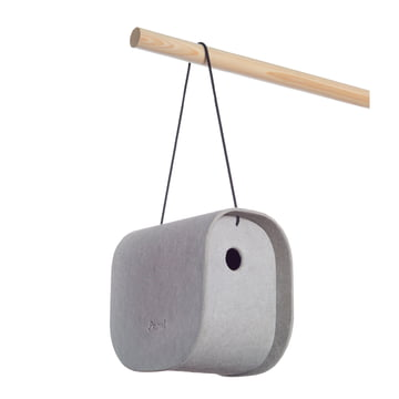 Eternit - Birdy birdhouse, grey