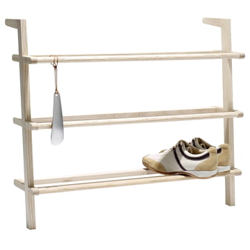 side by side - Shoe Cabinet Gaston with Shoehorn