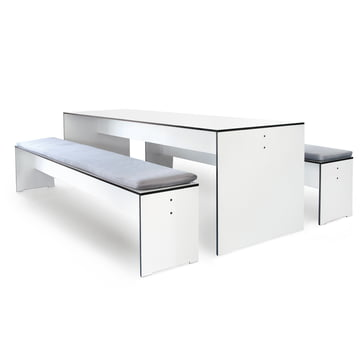Conmoto - Riva Indoor and Outdoor Furniture - Set white
