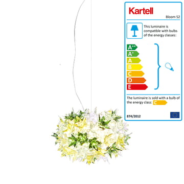 Kartell - Bloom S2 Pendant Lamp, mint