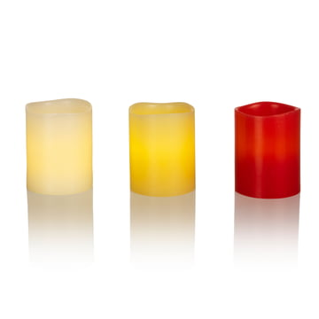 LED Real Wax Candle S