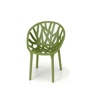 Vitra - Miniature Vegetal Chair, green