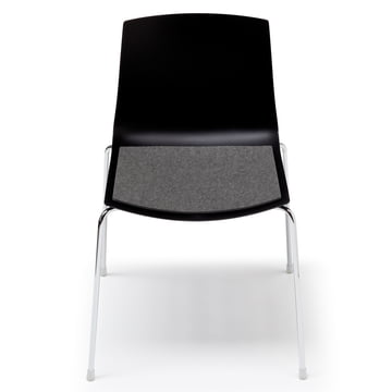Hey Sign - Felt pad Arper Catifa Chair, anthracite 5mm AR