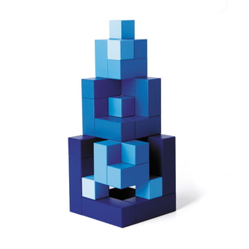 Cubicus wooden toy, blue