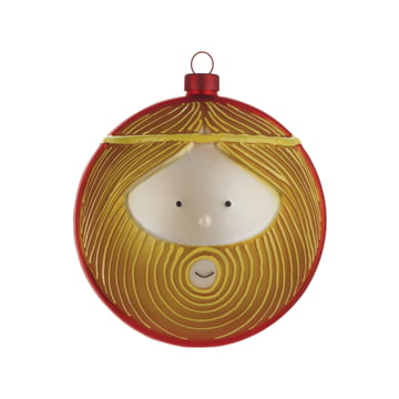 Joseph Christmas Bauble by A di Alessi