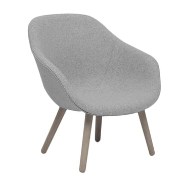 Hay - About A Lounge Chair, Low / AAL 82, Remix light grey (123)