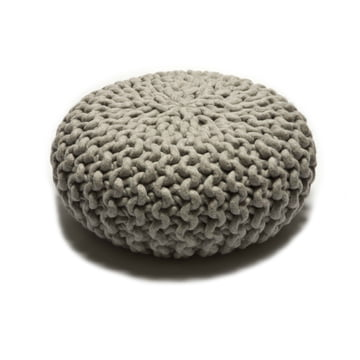 Thomas Eyck - Urchin Pouf small, grey