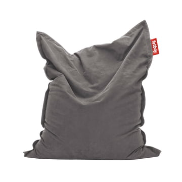 Original stonewashed beanbag by Fatboy in grey