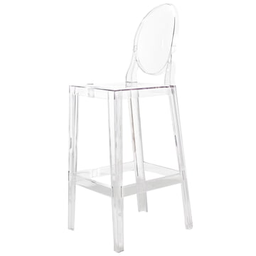 Kartell - One More, One More Please stool, oval H 110 cm, clear