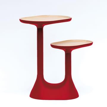 Moustache - Baobab side table, red