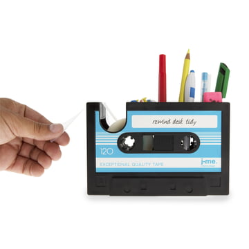 j-me - Rewind desk helper, blue - filled