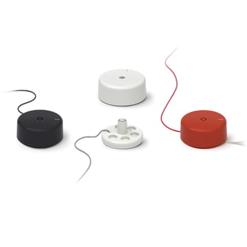 Punkt. - multiple socket ES 01 - group, colours