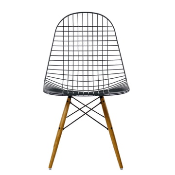 Vitra - Wire Chair DKW, yellowish maple - Front