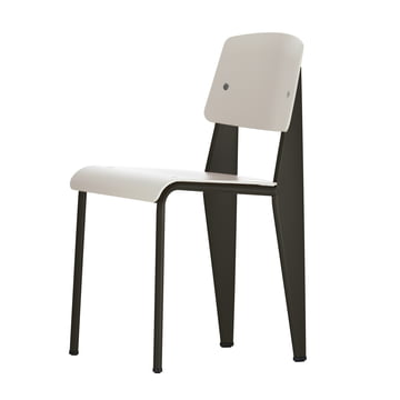 Vitra - Prouvé Standard SP chair, black / warm grey