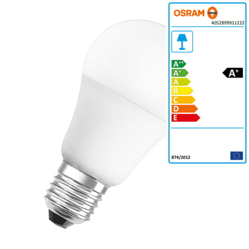 the osram led superstar classic a in the shop. Black Bedroom Furniture Sets. Home Design Ideas
