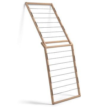 Skagerak - Dryp clothes horse, oak wood - leaning
