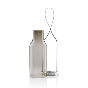 Eva Solo - Glass Lantern - 25cm - smoke