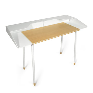 Radius Design - Miss Moneypenny Secretary, without lamp, white