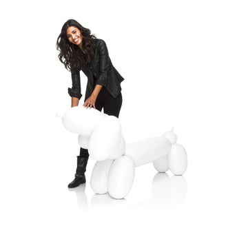 Fatboy - Inflatable Hot Dog, white - with person
