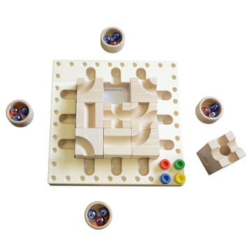 cuboro - Tricky ways marble run strategy game