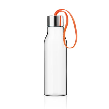 Eva Solo - Drinking bottle with loop in orange