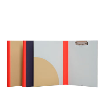 Hay - Spine Clip Board, red