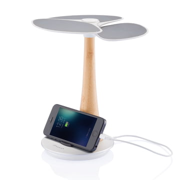 XD Design - Ginkgo Solar-Charger - with iPhone