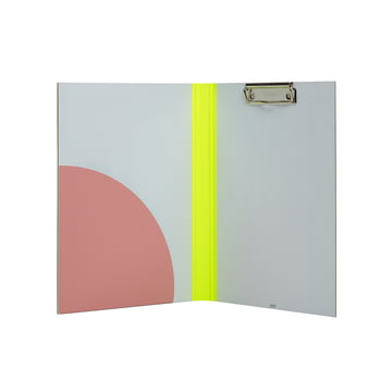 Hay - Spine Clip Board, yellow