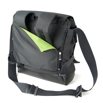 Moleskine - myCloud backpack, backside, hiding shoulderstraps