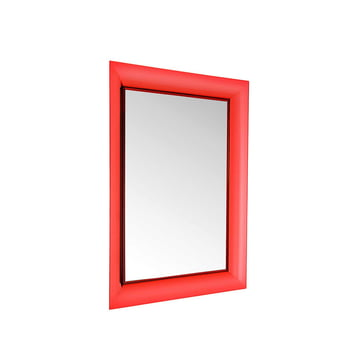 Kartell - François Ghost Mirror, small, red - inclined