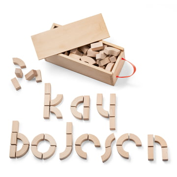 Kay Bojesen - Alphabet Wooden Bricks