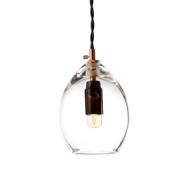 The Unika Pendant Lamp by Northern Lighting in small, transparent