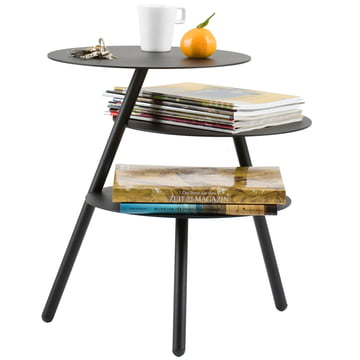 Catalogue image: Pulpo - Trio side table, black