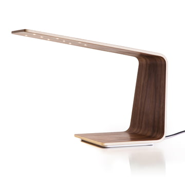 Led 1 table lamp by Tunto in walnut