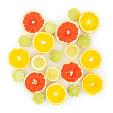Normann Copenhagen - lemons, limes, oranges, grapefruits