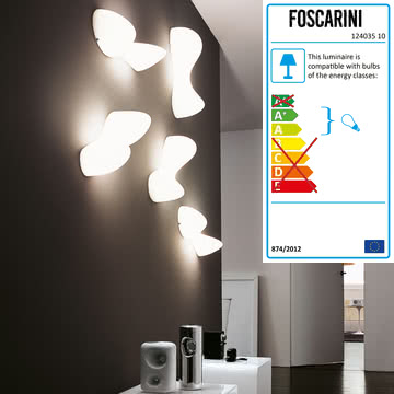 Foscarini - Blob S wall and ceiling lamp