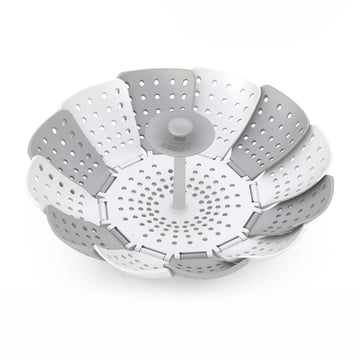 Joseph Joseph - Lotus Plus Steamer Basket, grey / white