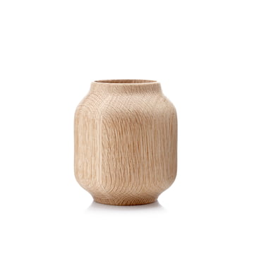 Applictata - Poppy Vase small, oak
