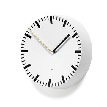 Hay - Analog Clock, white