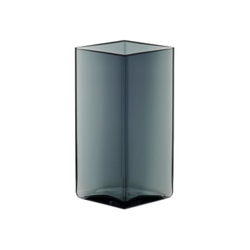 Iittala - Ruutu Vase 115 x 180 mm, grey