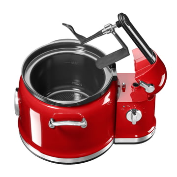 KitchenAid - Multi Cooker + Stir Tower KitchenAid in empire red without lid