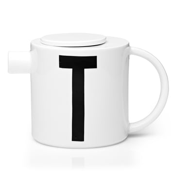 Design Letters - AJ Porcelain Tea Pot