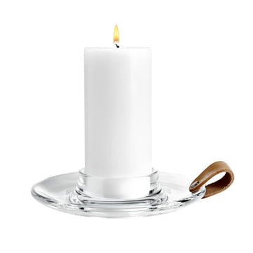 Holmegaard - Design with light block candleholder, 19 cm