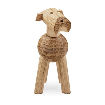 Kay Bojesen - Dog Tim in bright wood